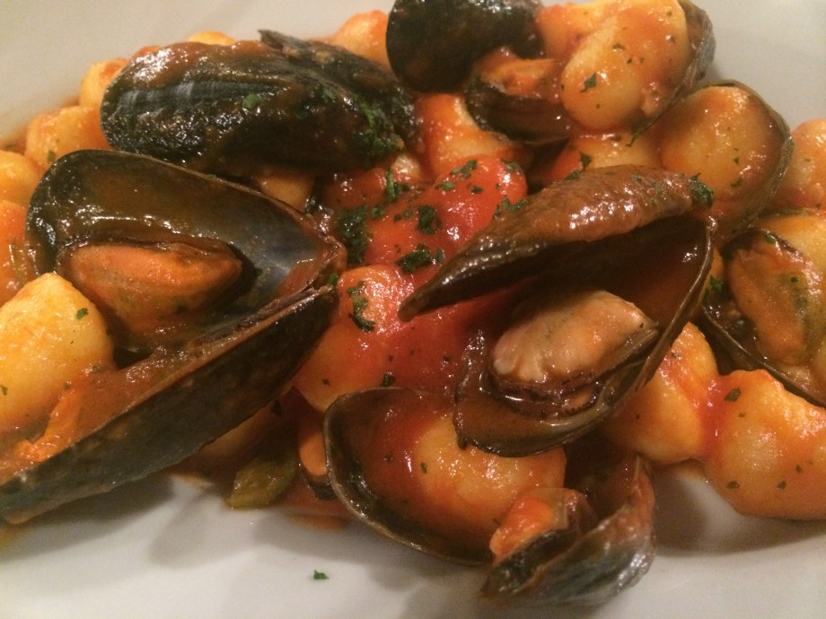 Gnocchi with Mussels